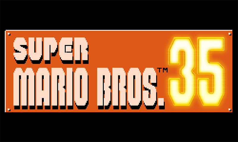 Super Mario Bros 35 logo