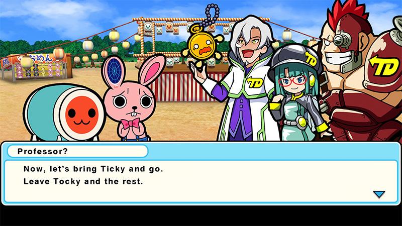 Taiko No Tatsujin Rhythmic Adventure Pack personajes