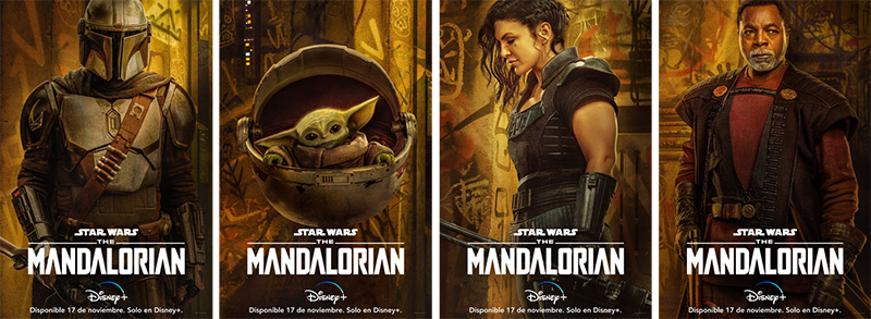 The Mandalorian S2 posters
