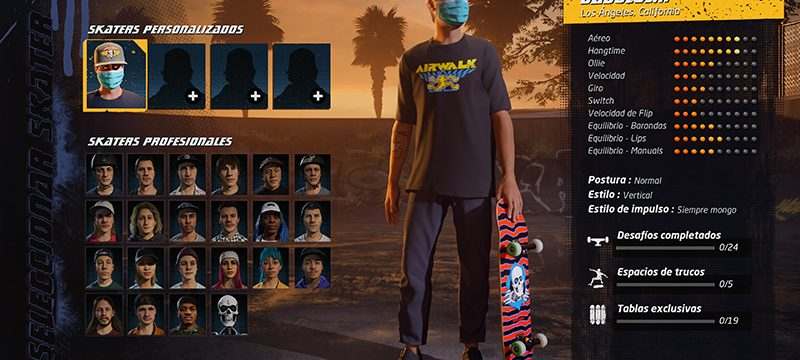 Tony Hawk's Pro Skater 1 and 2 personalizacoin