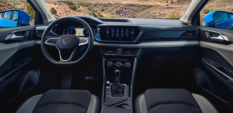 Volkswagen Taos 2021 Mexico interior