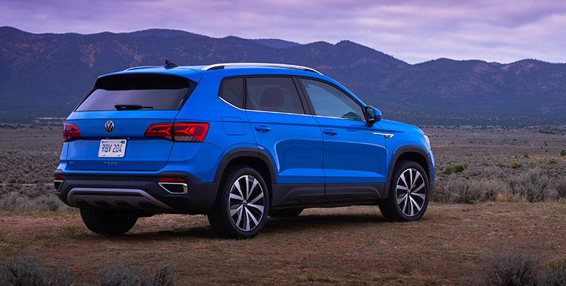 Volkswagen Taos 2021 Mexico trasera