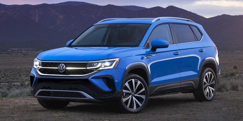 El Nuevo Volkswagen Taos llegará a México a finales de año