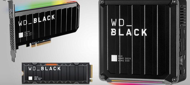 WD_BLACK SSD unidades 2020