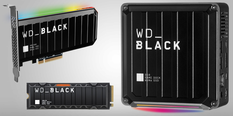 WD_BLACK presenta soluciones de almacenamiento SSD para juegos