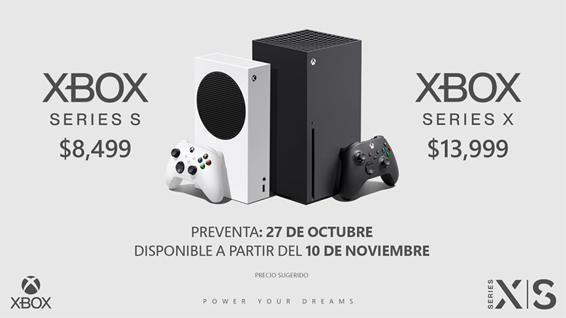 El 27 de octubre inicia la preventa de Xbox Series X | S en México