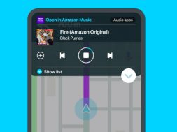 Amazon Music Waze