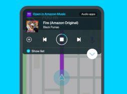Amazon Music Waze