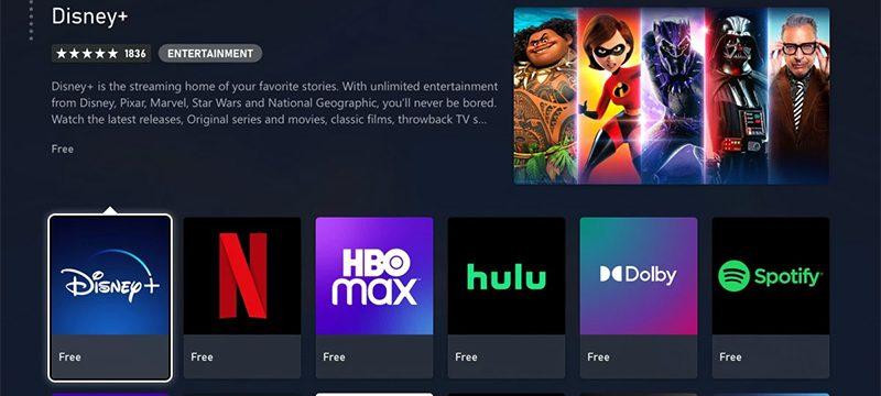 Apps Entretenimiento Xbox