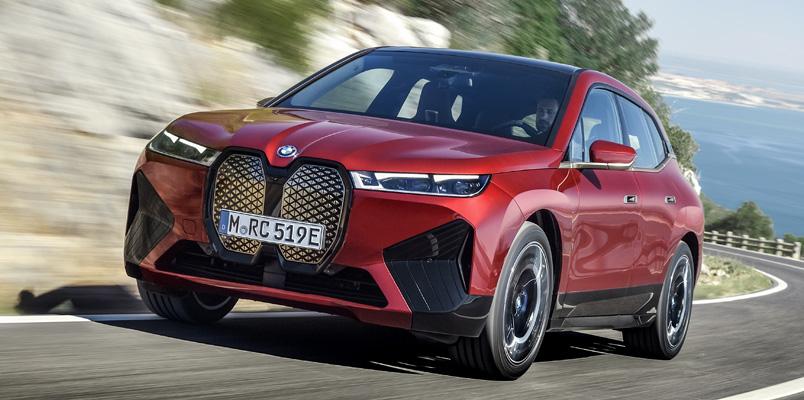 La tecnología dentro del BMW iX, el nuevo SAV eléctrico