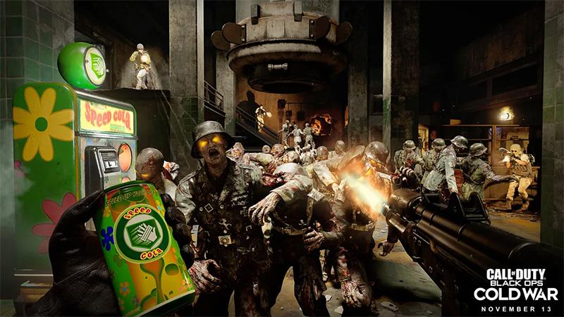Black Ops Cold War zombies lanzamiento