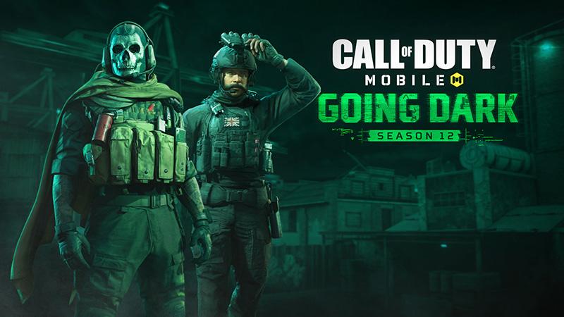 Going Dark la nueva Temporada 12 de Call of Duty: Mobile