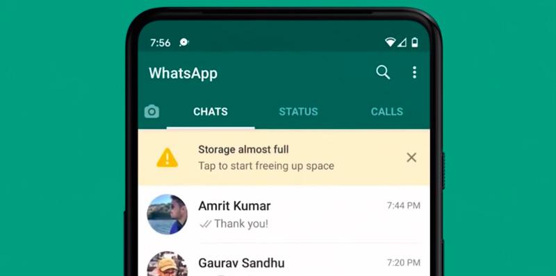 Gestor de almacenamiento de WhatsApp