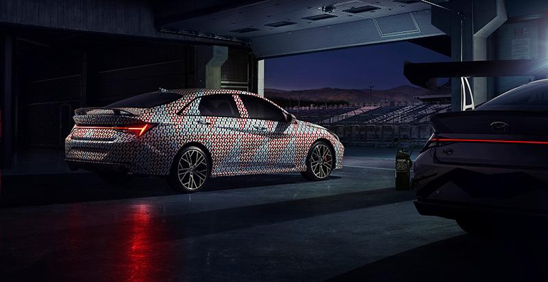 Hyundai Elantra N 2021 circuito