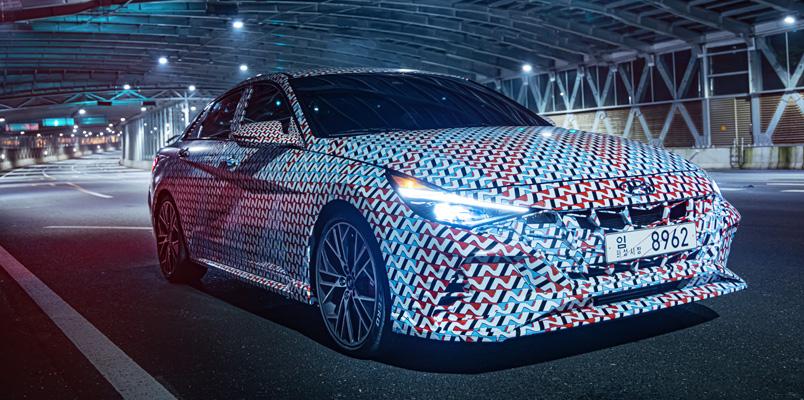 Hyundai Elantra N se presentará en 2021 y aquí sus primeras imágenes