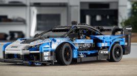 Este es el primer McLaren Senna GTR de LEGO Technic