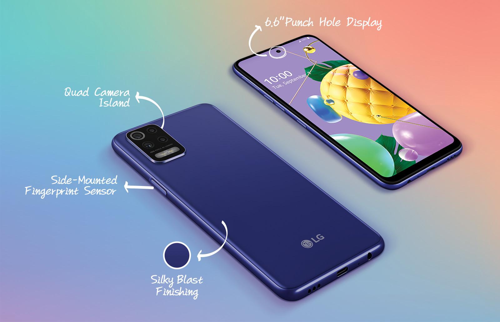 LG K52 Mexico caracteristicas