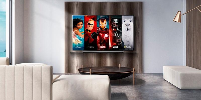 Los televisores de LG le dan la bienvenida a Disney+ en México