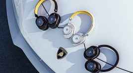Estos son los nuevos audífonos de Lamborghini y Master & Dynamic