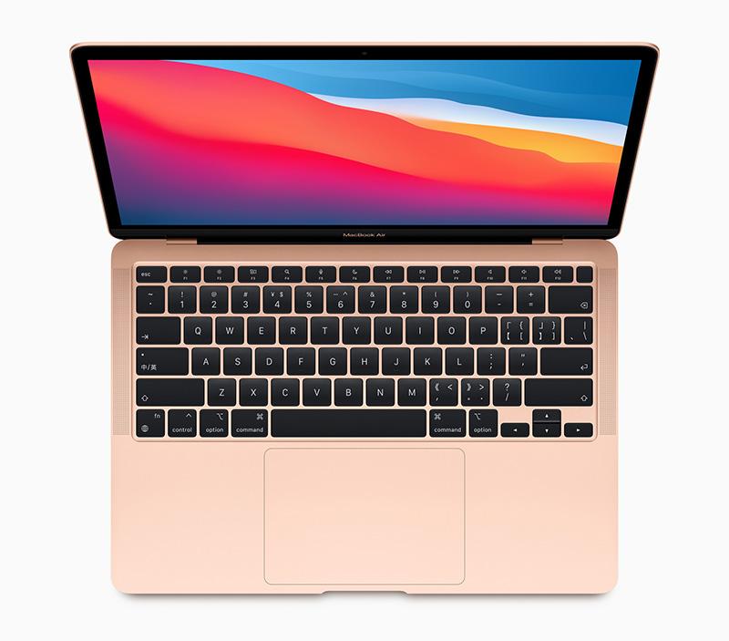 MacBook Air 2020 arriba