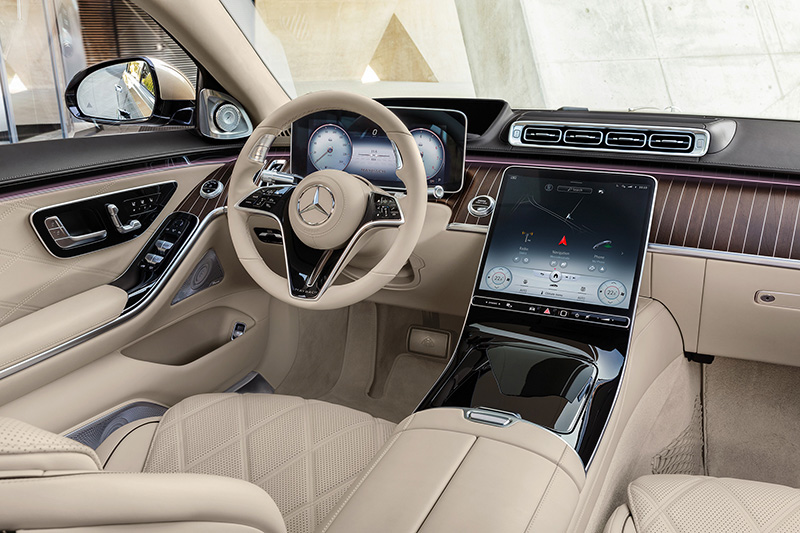 Mercedes-Maybach Clase S 2021 interior