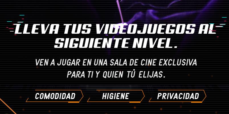 Mi Sala Cinemex Gamer renta