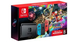 Nintendo Switch con Mario Kart 8 Deluxe y Nintendo Switch Online