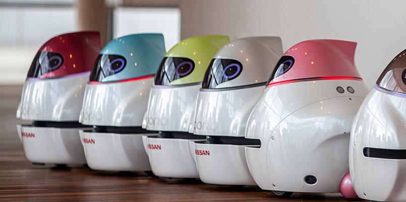 Nissan Eporo, el robot que dice cómo funciona la conducción autónoma