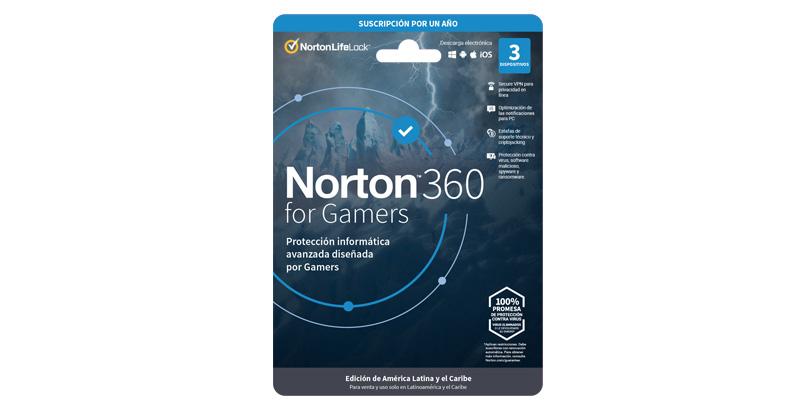 Norton 360 para Gamers