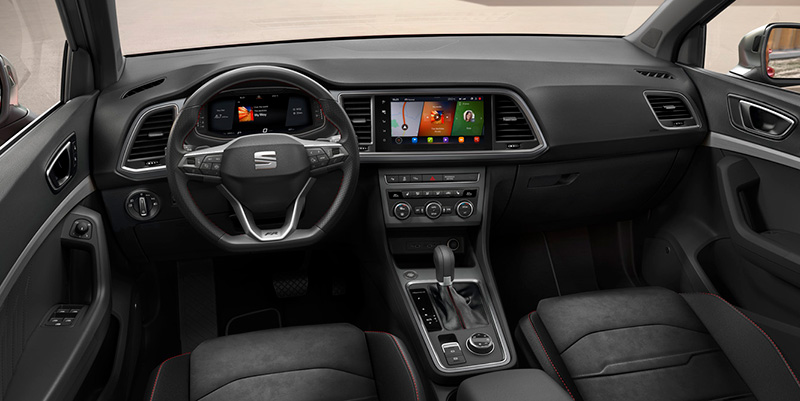 Nuevo SEAT Ateca 2021 interior