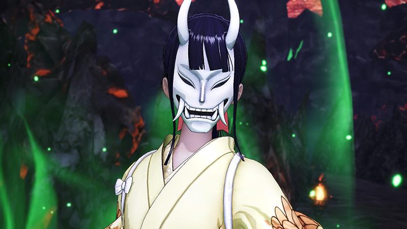 Okiku One Piece Pirate Warriors 4 mascara
