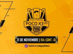 PUBG MOBILE Copa America PocoX3