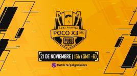 Participa en la PUBG MOBILE Copa América PocoX3 2020