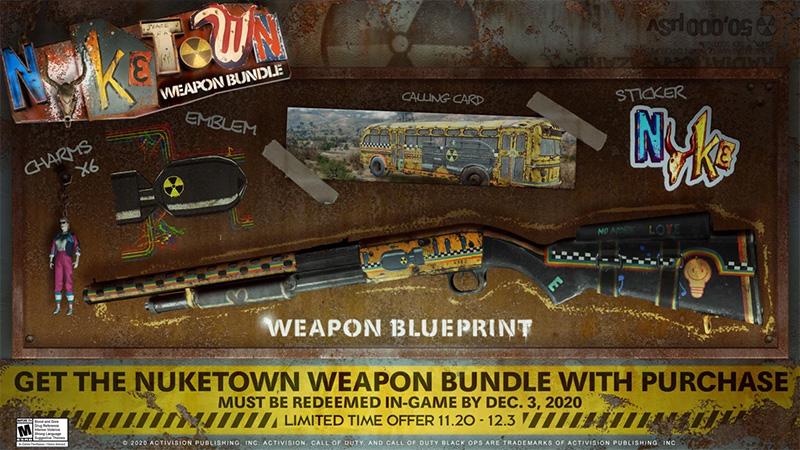 Paquete de Armas de Nuketown para Black Ops Cold War