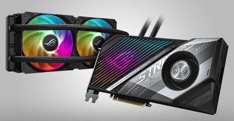 Así es la nueva ROG Strix LC Radeon RX 6800 XT