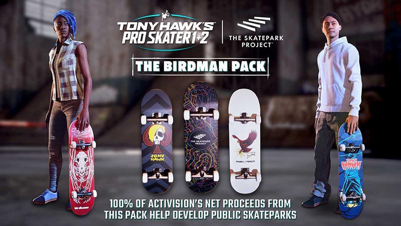 The Birdman Pack Tony Hawk