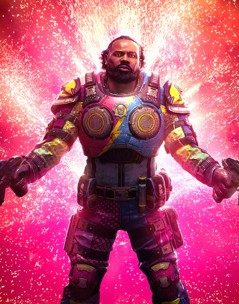 The New Day Gears 5 Xavier-Woods