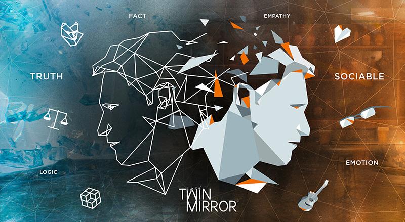 Twin Mirror Sam Higgs arte