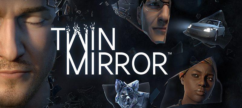 Twin Mirror logo personajes