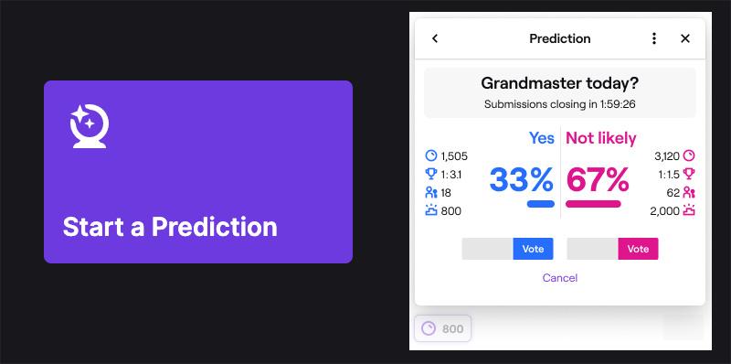 Twitch Predicciones