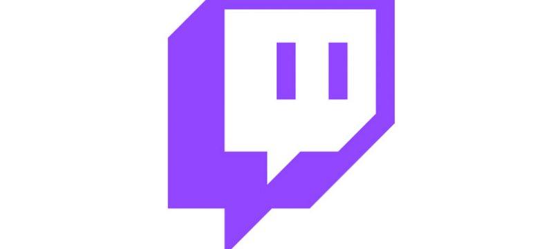 Twitch logo Glitch