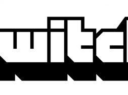 Twitch logo negro