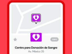 Waze Banco sangre Mexico