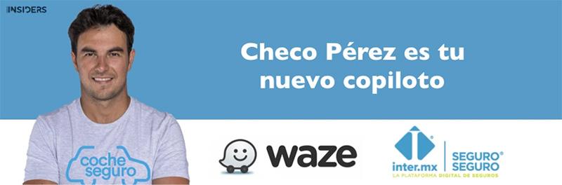 Waze Checo Perez