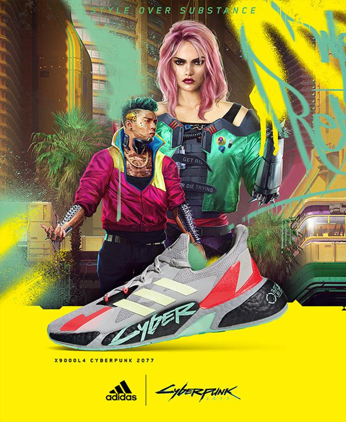 adidas X9000 Cyberpunk 2077 FZ3092