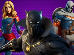 Black Panther, Captain Marvel, TaskMaster Fortnite