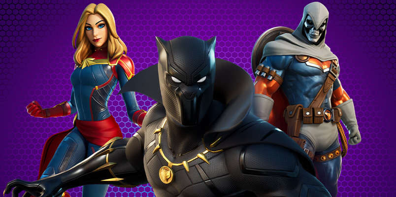 Fortnite rinde tributo a Black Panther con el nuevo paquete Marvel