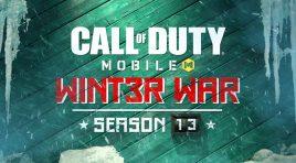 Contenido de Call of Duty: Mobile Temporada 13: Winter War