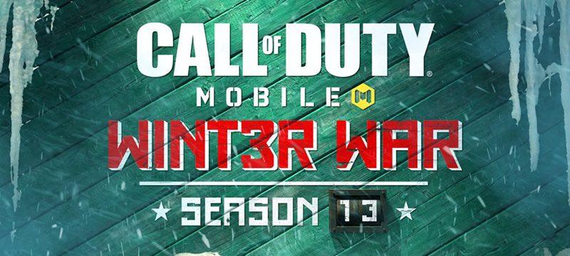 Call of Duty Mobile Temporada 13 Winter War