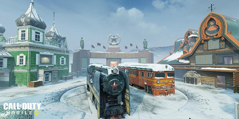 Call of Duty Mobile Temporada 13 Winter War Nuketown Russian